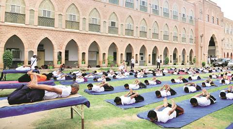 Panjab University, International yoga day, yoga training sessions, Arun Kumar, India News
