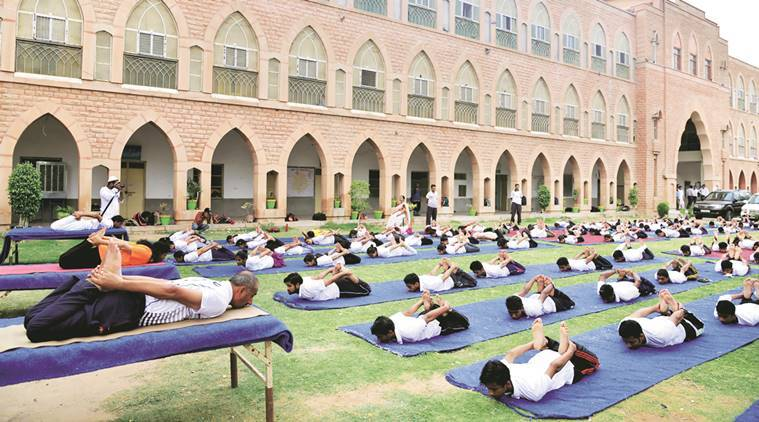 International Yoga Day, rajasthan CM, rajasthan government, vasundhara raje, OPD-cum-research centre, rajasthan OPD-cum-research centre, indian express news, india news