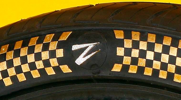 z tyre, world's most expensive tyres, gold diamond tyres, dubai tyres, UAE, auto news, world's most expensive car tyres