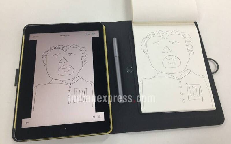 wacom, wacom bamboo spark, wacom bamboo spark review, wacom bamboo spark price, wacom bamboo spark features, wacom bamboo spark specifications, electronic digitiser, evernote, electronic note taking device, moleskine, gadgets, technology, technology news