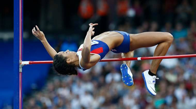 Katarina Johnson-Thompson, Katarina Johnson-Thompson Britain, Katarina Johnson-Thompson Heptathlon, Katarina Johnson-Thompson high jump, Katarina Johnson-Thompson Rio 2016 Olympics, Rio 2016 Olympics, Rio Olympics, Rio, Olympics, Heptathlon