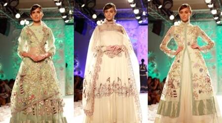 When nature turns inspiration: Rahul Mishra's collection at ICW 2016 takes you down mystical gardens