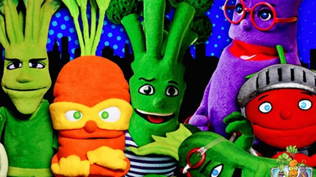 Cartoon characters as super veggies help kids eat healthy ...