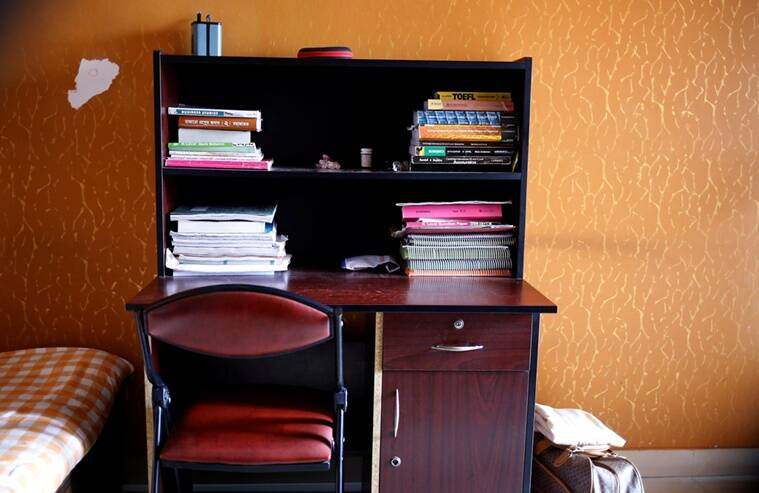 The study table of Meer Saameh Mubasheer is pictured in his room at his family home, in Dhaka, Bangladesh, July 5, 2016. Picture taken July 5, 2016. REUTERS/Mohammad Ponir Hossain FOR EDITORIAL USE ONLY. NO RESALES. NO ARCHIVE.