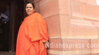 Not fielding Muslims in UP a mistake: Uma Bharti