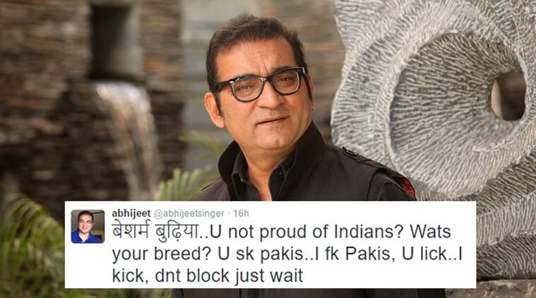 Abhijeet Bhattacharya, singer Abhijeet Bhattacharya, playback singer Abhijeet Bhattacharya, complaint against abhijit, complaint filed for abusing journalist, abuse journalist, abhijeet abuse journalist, abhijeet abuse female journalist, indian express news, india news
