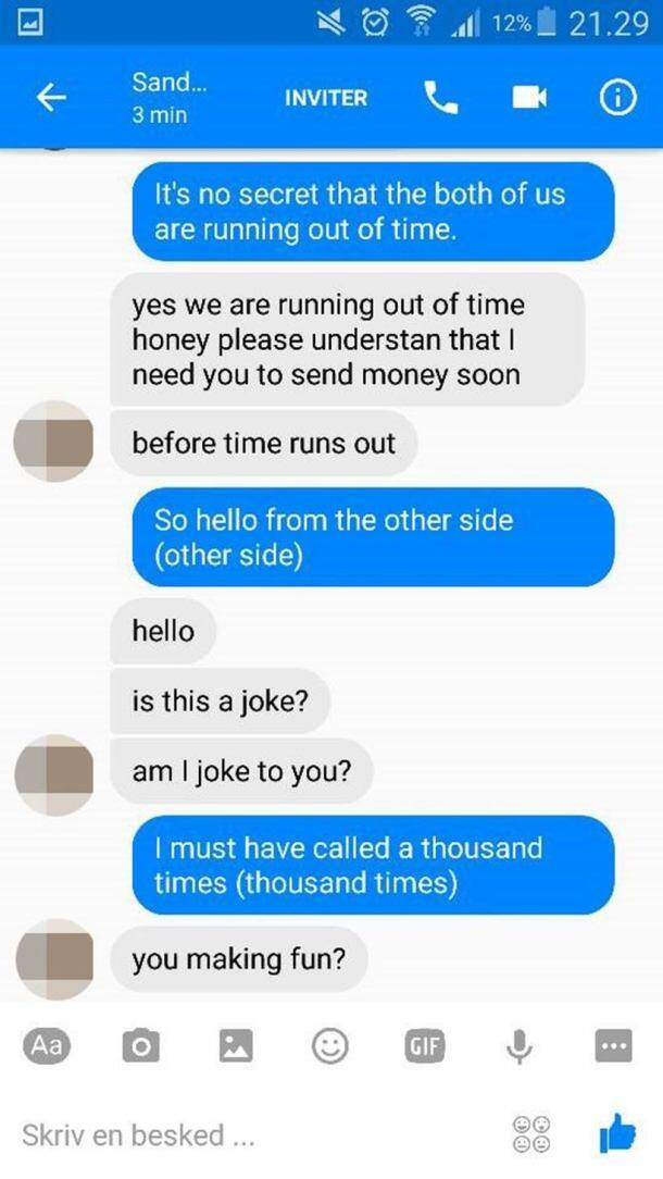 ROFL! This guy trolled a Facebook scammer with Adele's lyrics