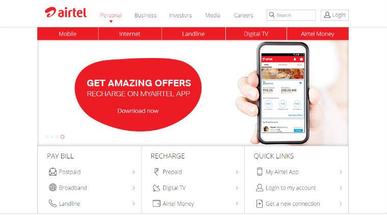 Airtel increases benefits on pre-paid data recharge packs