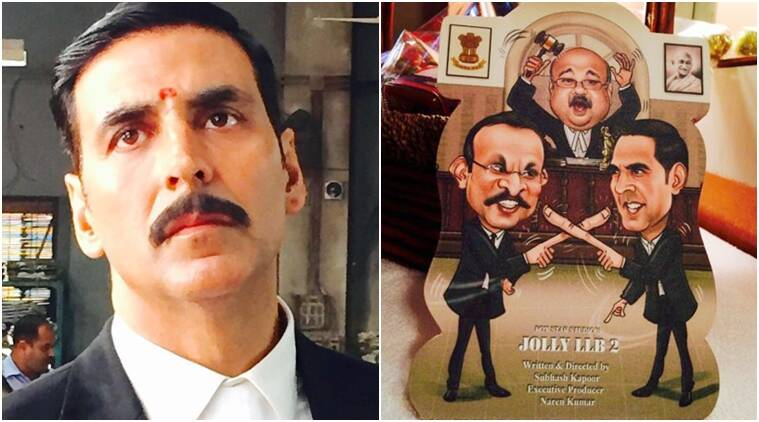 Akshay takes on lawyer avatar in 'Jolly LLB 2'