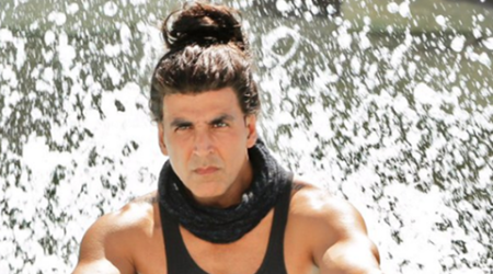 Akshay Kumar's never seen before Dishoom look