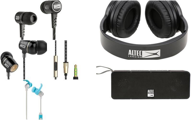 Altec Lansing, Altec Lansing speakers, Altec Lansing headphones, Altec Lansing IMW 140 Dual Motion speaker, Altec Lansing MZW100 Bluetooth Sport earphones, Altec Lansing MZW300 headphones, Earc60 French Touch earphones,gadgets, speakers, headphones, technology, technology news