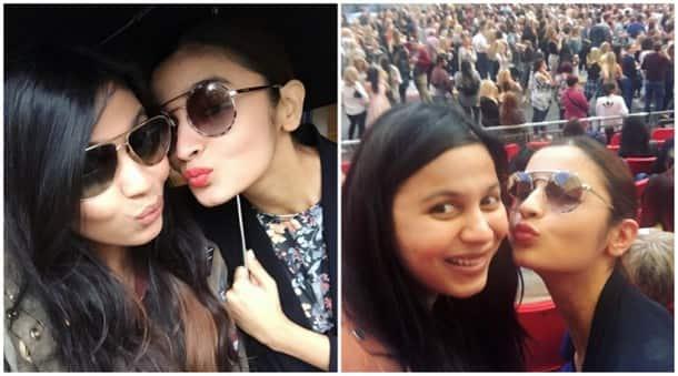 Alia Bhatt, Alia Bhatt sister, Shaheen Bhatt, Alia Bhatt Vacation, Alia Bhatt Shaheen Bhatt, Alia, Alia Bhatt holiday pics, Alia Bhatt london pics, Alia Bhatt beyonce concert, Entertainment