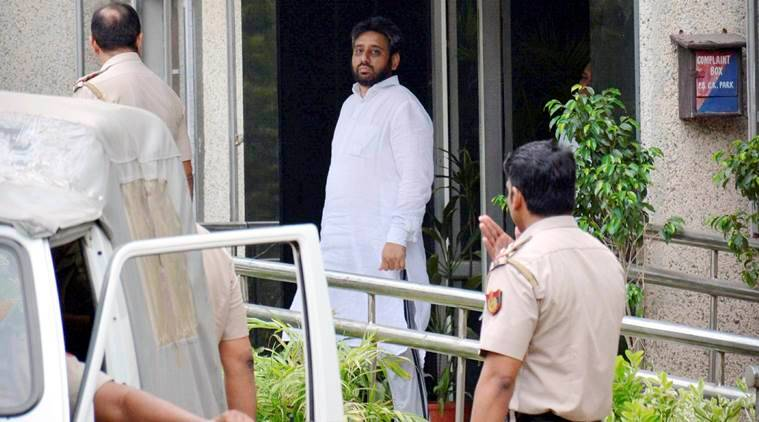 Amanatullah khan, AAP, Aam Aadmi Party, AAP MLA, AAP MLA granted bail, Amanatullah khan granted bail, sexual harassment case, Delhi news, india news, indian express news