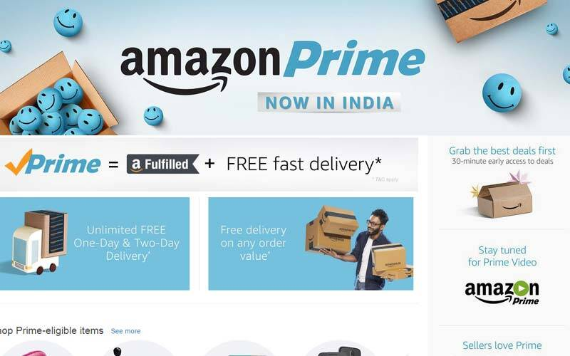 amazon prime video price india