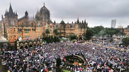 Mumbai's Ambedkar Bhavan demolition: From Left to Right, leaders join protest