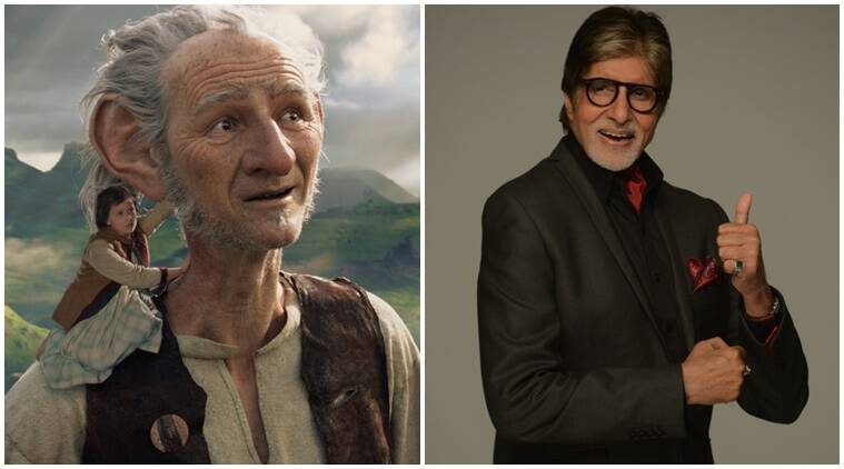 Amitabh Bachchan, The BFG, BIg B, Big B The BFG, The Big Friendly Giant, Steven Spielberg, Amitabh Bachchan The BFG, Bachchan The BFG, Bachchan is The BFG, Entertainment
