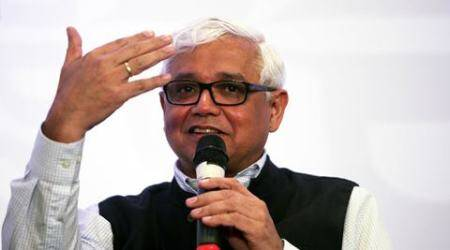 amitav ghosh, author amitav ghosh, express adda, indian express adda, amitav ghosh express adda, The Great Derangement, india news