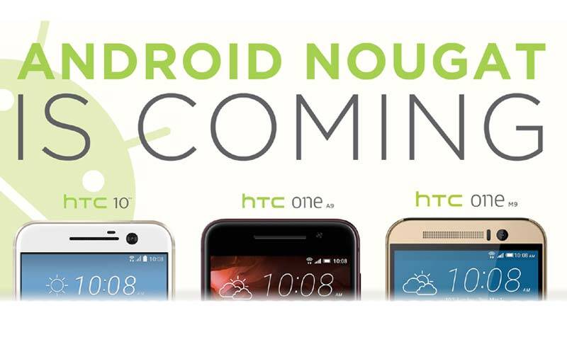 Google Android Nougat: HTC 10, HTC One A9, HTC One M9 will get update |  Technology News,The Indian Express