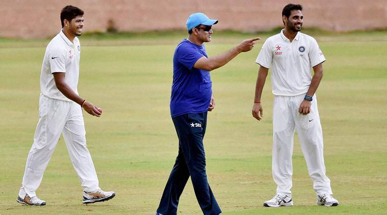 Anil Kumble, Anil Kumble India Coach, Anil Kumble coach, Anil Kumble photos, Anil Kumble gym photos, India vs West Indies, Ind vs WI, WI vs Ind, Test series, Cricket, sports