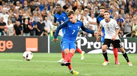 Antoine Griezmann double helps France sink Germany  to reach Euro final