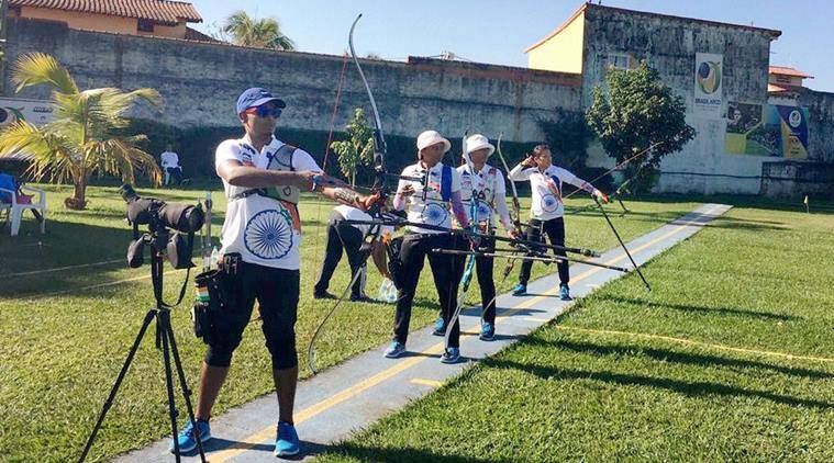 Archery, Rio Olympics 2016, Rio 2016 Olympics, Rio Olympics archery event, Indian archery head coach, Dharmendra Tiwari, Indian archery, Indian archers