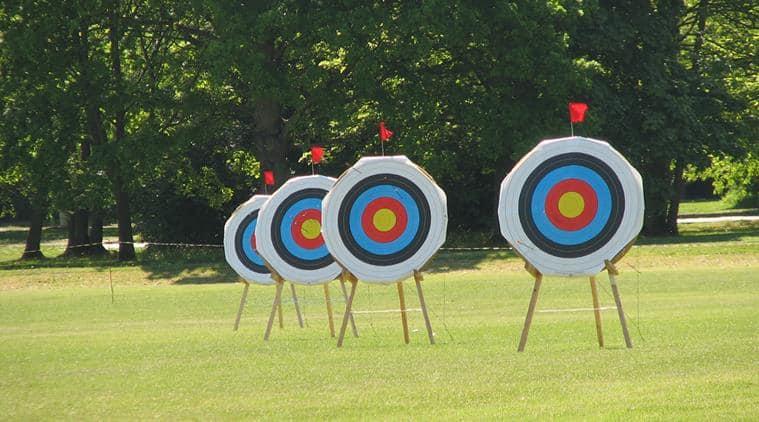 Trisha Deb, Lily Chanu Paonam, Jyothi Surekha Vennam, World Archery Championships, sports news, Indian Express