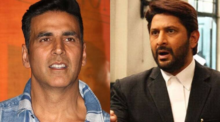 Arshad Warsi, Akshay Kumar. Jolly LLB2, Jolly LLB, Arshad Warsi Jolly LLB, Akshay Kumar Jolly LLB, Akshay replaces Arshad, Akshay Kumar replaces Arshad Warsi, entertainment news