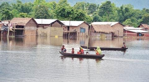 assam, assam floods, assam rains, assam monsoons, assam landslides, assam deaths, assam landslide deaths, landslide, north east mosoons, north east rains, assam news, india news