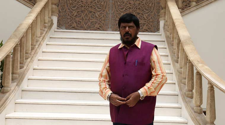 donald trump, ramdas athawale, trump athawale, athawale to meet trump, trump athawale meet, president elect donald trump, trump news, indian express news