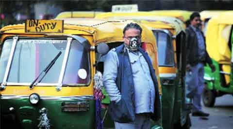autorickshaw drivers strike, transporters strike, Delhi government, Arvind Kejriwal, cab aggregators, Ola, Uber, AAP government, city news