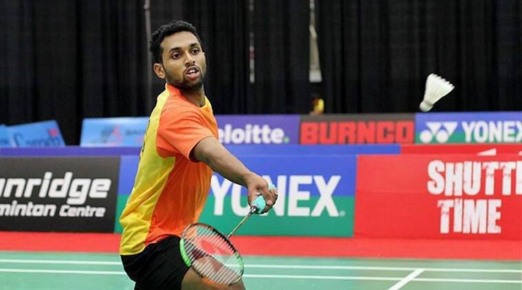 H S Prannoy recovered from a second game slump to eke out a hard-fought 21-18 18-21 21-12 win over Canada's BR Sankeerth. (Source: PTI)