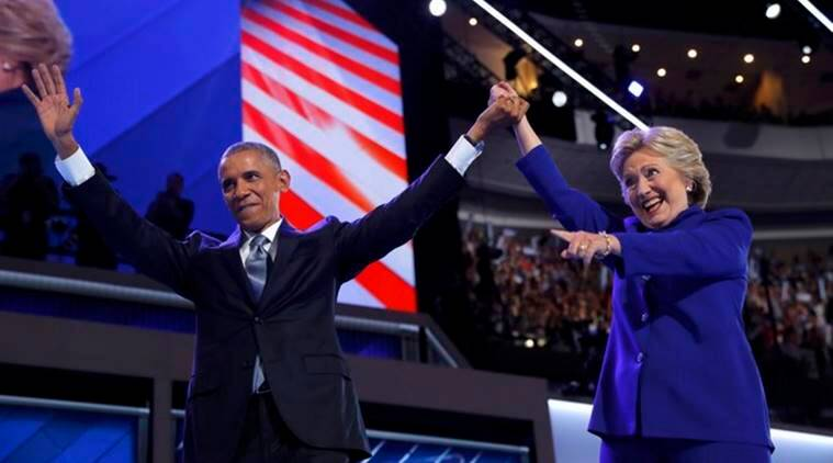 Barack Obama, Hillary Clinton, clinton, obama, US presidential elections, 2016 US elections, Ohio, Democrats, Ohio Democrats, US news, world news, latest news, Indian express