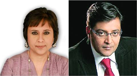 Arnab Goswami, Barkha dutt, barkha dutt lashed out at arnab goswami, barkha dutt facebook post, news hour debate, kashmir, india news