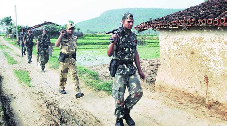 Naxals, IED blast, Chhattisgarh IED blast, CRPF jawans injured, CRPF, Chhattisgarh naxal problem, Chhattisgarh news, India news, latest news, indian express