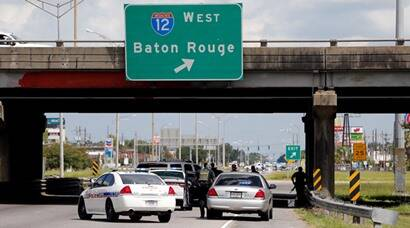Baton Rouge shooting: Gunman kills three officers, US shocked