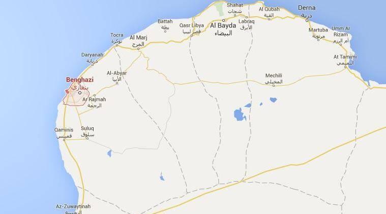 Libya Car bombing targeting a security chief in Benghazi kills at