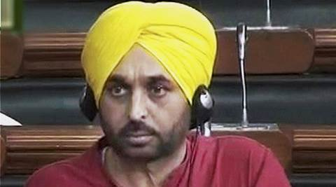 Bhagwant Mann, Bhagwant Mann video, Bhagwant Mann parliament video, video, parliament, Modi, Narendra Modi, PM Modi, news, latest news, national news, India news, Pathankot airbase, Pathankot ISI, ISI Modi, Modi ISI, Sumitra Mahajan