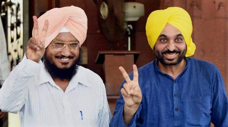 AAP, AAP Punjab, aap candidates, AAP campaign, AAP loksabha election campaign, loksabha poll campaign, Bhagwant Mann, punjab news, punjab politics, indian express news