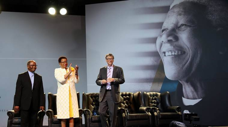 bill gates, africa, nelson mandela, microsoft, africa continent, africa charity, africa donation, bill gates africa donation, bill gates news, us news, world news, africa news, latest news