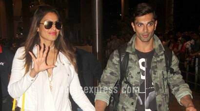 Bipasha Basu, husband Karan Singh Grover are back from their vacation, see pics