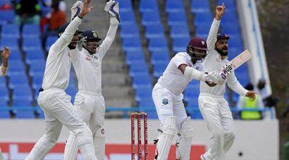India enforce follow-on against West Indies