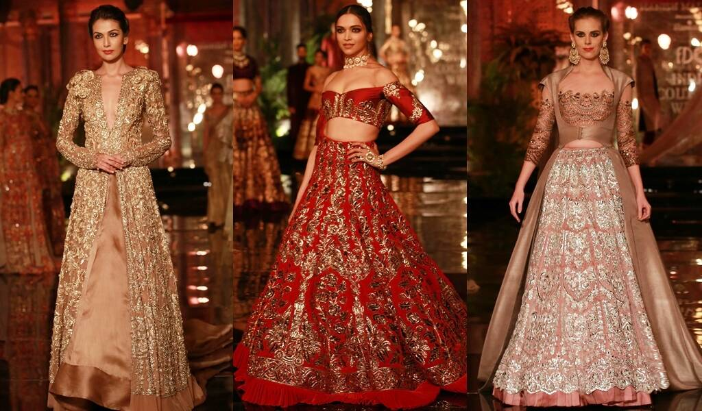 Manish Malhotra Sabyasachi Anju Modi Trends By Celebrity Designers You Should Try Out For A Monsoon Wedding Lifestyle News The Indian Express