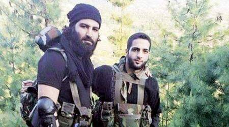 On Burhan Wani's location, BJP has two versions