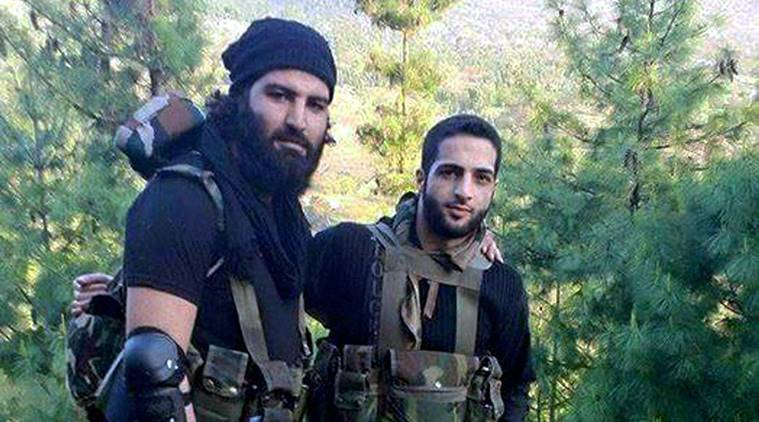 burhan wani, burhan wani death, burhan wani second death anniversary, Kashmir, Hizbul Mujahideen commander, Kashmir militant, India news, Indian Express news