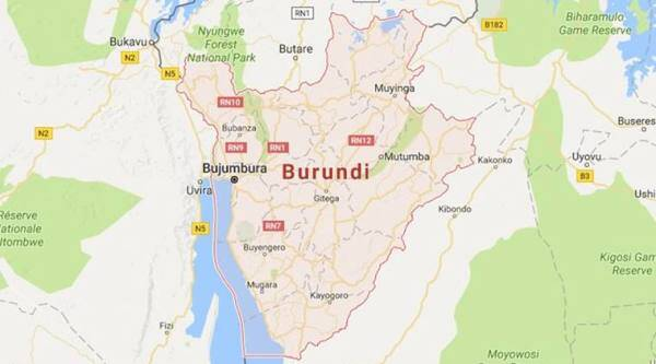 burundi, burundi attack, burundi grenade attack, grenade attack, burundi news, indian express news