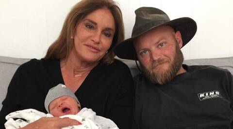 Caitlyn Jenner excited about new grandson