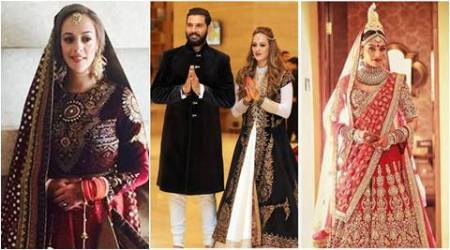 Hazel Keech, Lisa Haydon, Bipasha Basu: Celebrity brides of 2016 and what they wore