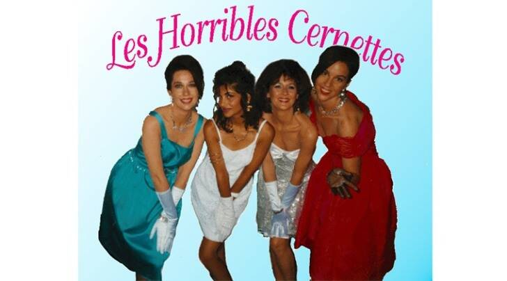 first photograph on internet, history pictures, The Horrible CERN girls, Les Horrible Cernettes, Girl band, 1992 girl band,