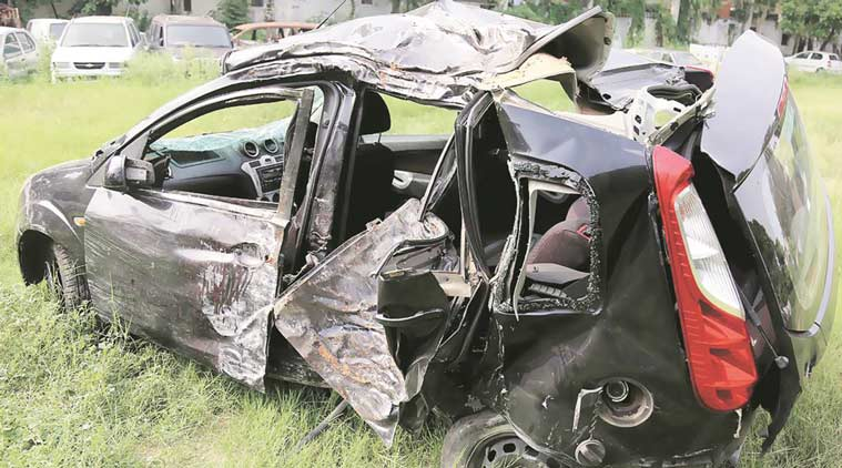 Speeding BMW rams into Uber cab killing its driver in South