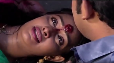 Watch: This woman in Tamil soap gets shot in the head but still wants her gajra back